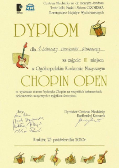 Chopin Open dyplom