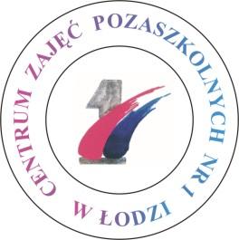 Logo CENTRUM ZAJĘĆ POZASZKOLNYCH nr 1 w Łodzi