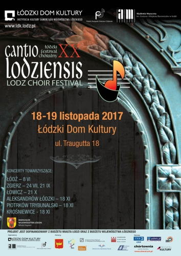 CANTIO  LODZIENSIS 2017